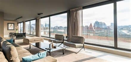 Penthouse<span>280</span>m² for rent Brussels