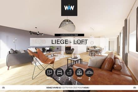 Apartment<span>200</span>m² for rent Liege