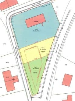 Building land<span>747</span>m² for rent