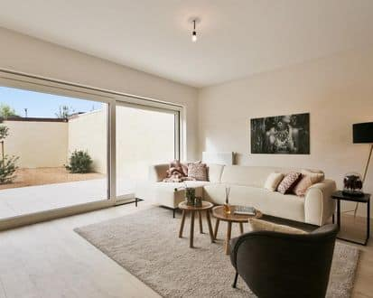 Ground floor flat<span>88</span>m² for rent