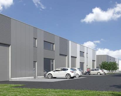 Warehouse<span>733</span>m² for rent