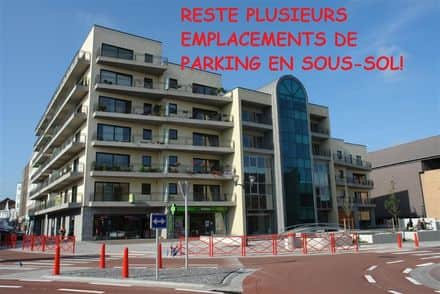 Parking space or garage for rent Mouscron