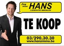 Hans Immo, real estate agency Antwerpen