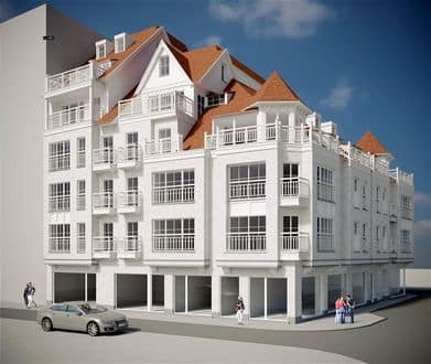 Apartment<span>64</span>m² for rent Blankenberge