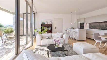 Penthouse<span>110</span>m² for rent