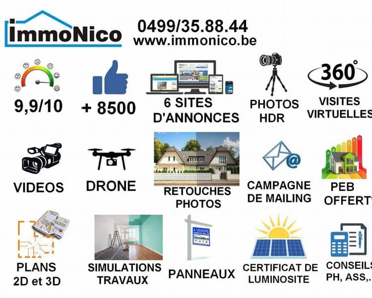 Business for sale in Courcelles
