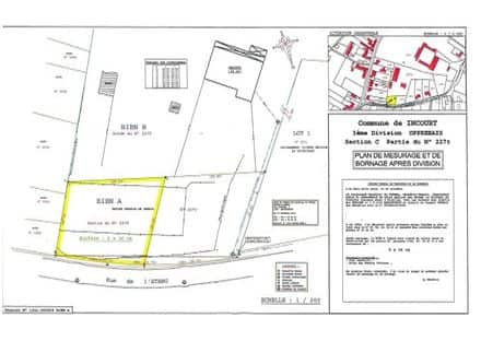 Building land<span>636</span>m² for rent