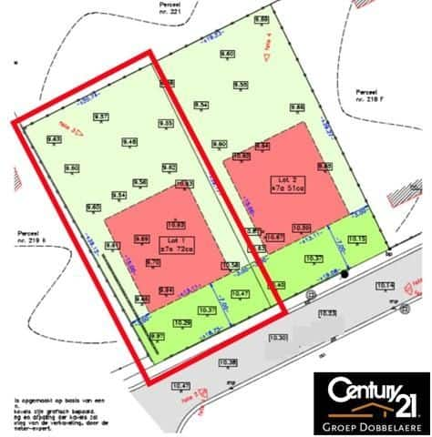 Land for sale in Hombeek